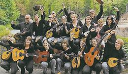 Helge Japha, Monika Stöhr mit der Heinrich-Scherer-Musikschule sowie der Verein Historienspiel