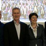 Vorstand Kulturverein Fürstenfeld nach der Mitgliederversammlung 2016