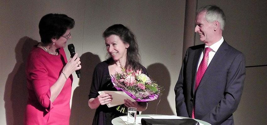 Verleihunh Kulturförderpreis 2016 an Simone Burger-Michielsen