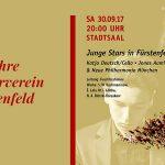 Festakt 40-jähriges Vereinsjubiläum - junge Stars in Fürstenfenfeld