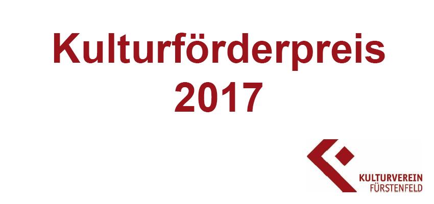 Preisträgersucher Kulturförderpreis 2017 kultur ffb