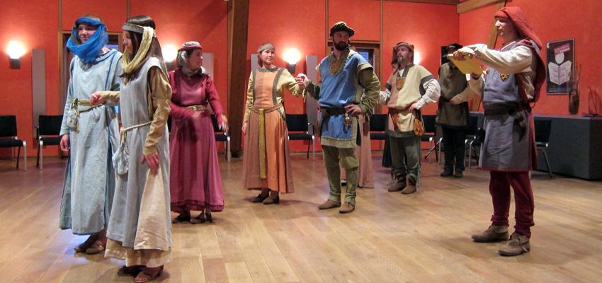 Tanzgruppe des Historienspielvereins Fürstenfeld